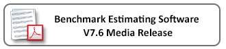 Download the Benchmark Estimating Software V 7.6 Media Release