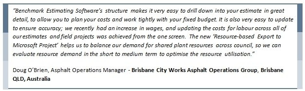 Brisbane City Works Testimonial