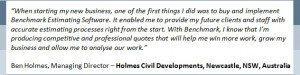 Holmes Civil Testimonial