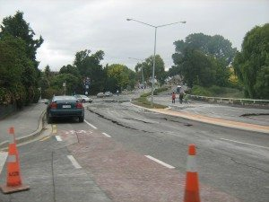 City Care worked to reinstate vital services after the earthquakes including roads, water and sewer