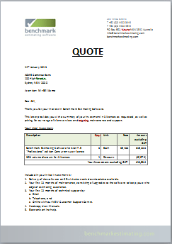 it consulting it consulting quotation template
