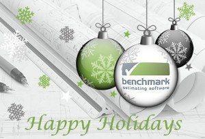 Happy Holidays from Benchmark Estimaing