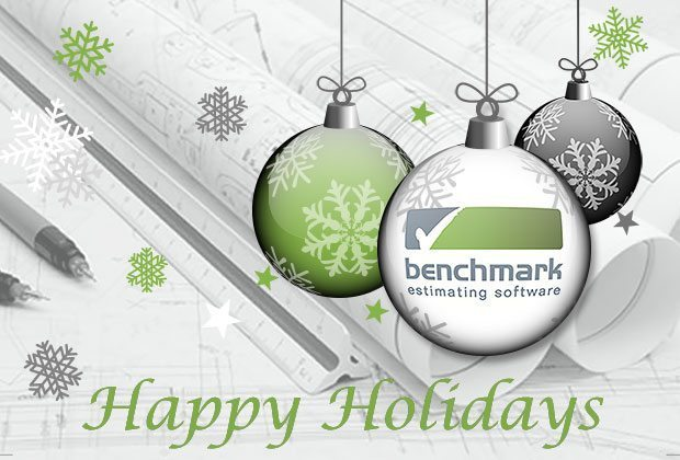 Happy Holidays from Benchmark Estimaing