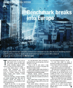 Benchmark breaks into Europe