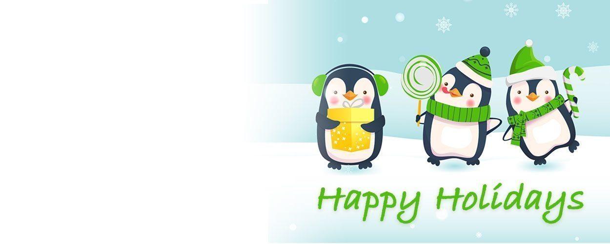 We wish you a wonderful festive season