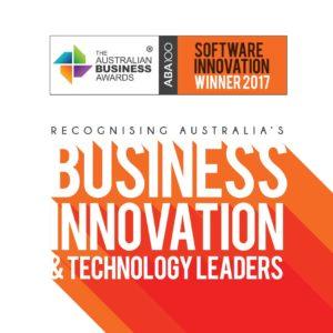 ABA100 Winner for Software Innovation in The Australian Business Awards