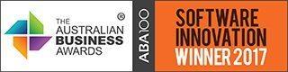 Gagnant du Prix de l'innovation informatique ABA100 lors du Prix australien de l'environnement pour les entreprises 2017