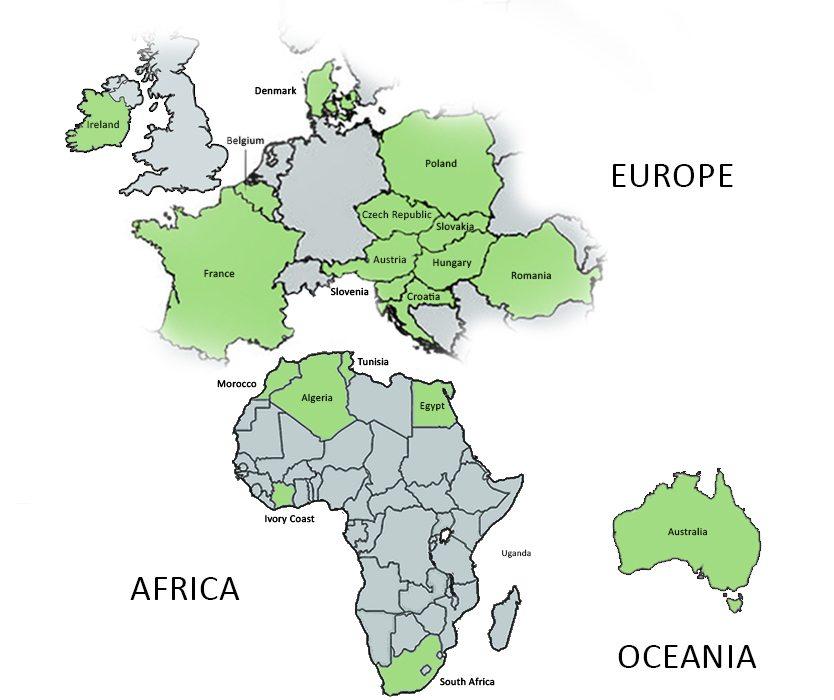 Colas Map